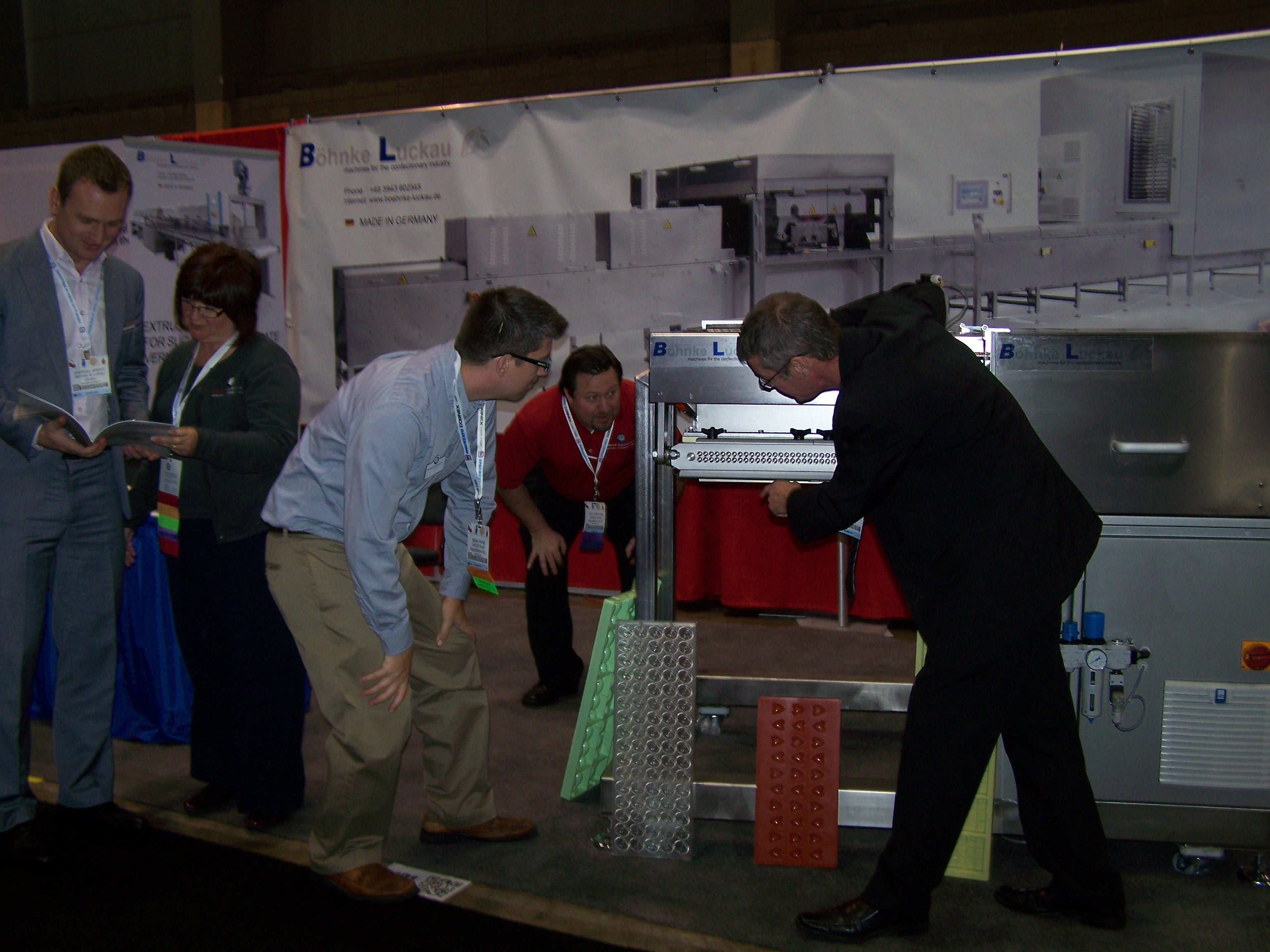 Böhnke & Luckau at the exhibition PackExpo 2012 USA