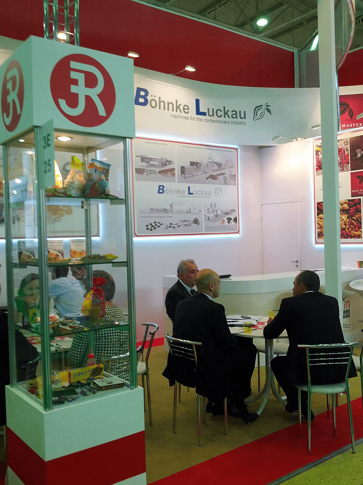 Böhnke & Luckau at the exhibition Agroprodmash Russia
