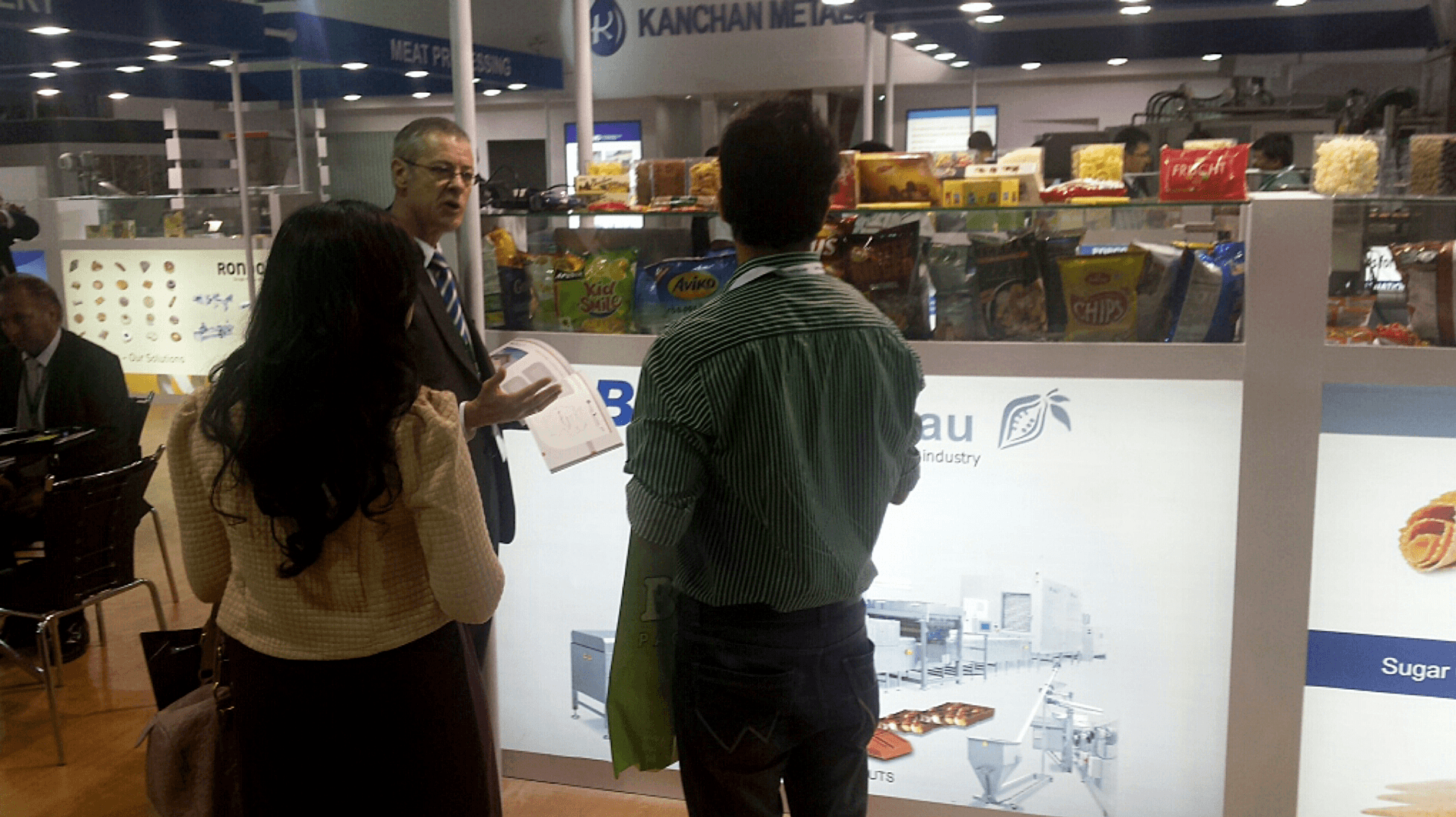 Böhnke & Luckau at International Food Tec Show Mumbai India 2014