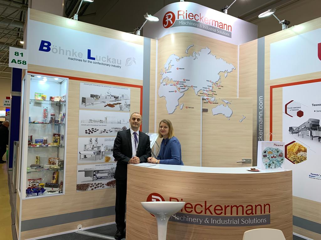 Böhnke & Luckau at the exhibition Agroprodmash Russia 2019